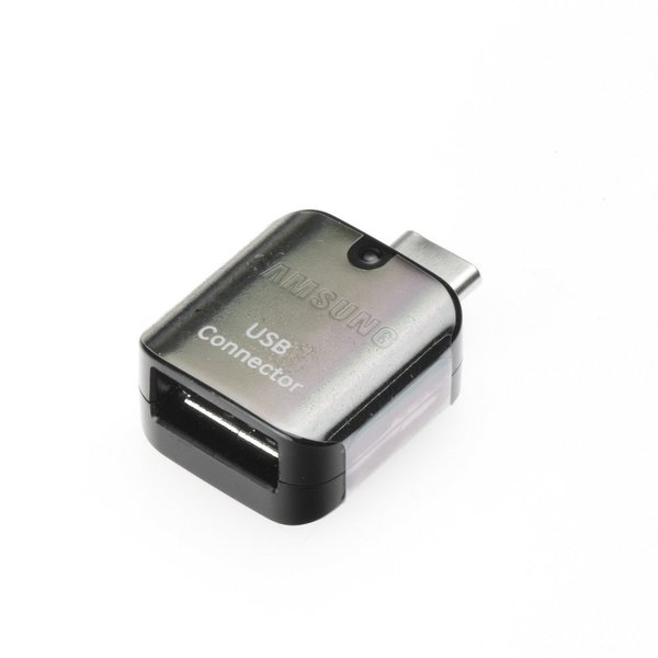 SAMSUNG OTG  Adapter USB/USB-C Black (Bulk) - Оригинален преход ( EE-UN930BB  )