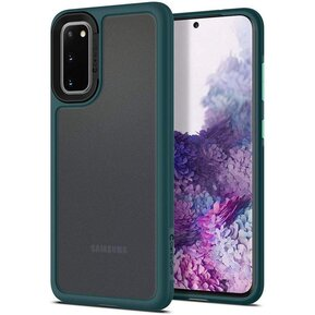 Удароустойчив кейс Spigen Ciel Color Brick за Samsung Galaxy S20 - Forest Green ( ACS00913 - 10028 )