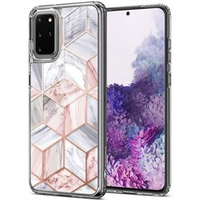 Удароустойчив кейс Spigen Ciel Etoile за Samsung Galaxy S20+ PLUS - Pink Marble ( ACS00765 - 10035 )