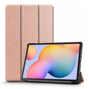 Тефтер от Tech-Protect SmartCase за Samsung Galaxy TAB S6 LITE 10.4 P610/P615 - Rose Gold ( 5906735417234 - 10019 )