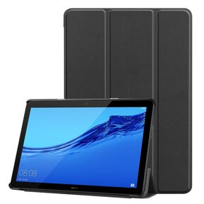 Тефтер от Tech-Protect SmartCase за HUAWEI MEDIAPAD M5 LITE 10.1 - черен ( 5906735413113 - 10019 )