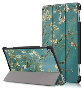 Тефтер от Tech-Protect SmartCase за HUAWEI MEDIAPAD M5 LITE 10.1 - Sakura ( 5906735410334 - 10019 )