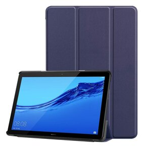 Тефтер от Tech-Protect SmartCase за HUAWEI MEDIAPAD T5 10.1 - тъмносин ( 99011116 - 10019 )