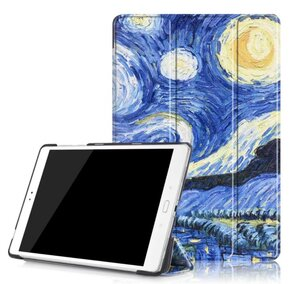 Тефтер от Tech-Protect SmartCase за Samsung Galaxy TAB A 10.1/T580 - Starry Night ( 5906735410624 - 10019 )