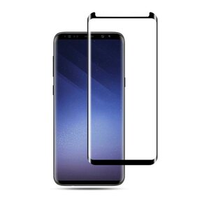 Закалено стъкло Mocolo TG+3D Case Friendly за GALAXY S9 - с черна рамка ( SX2307 - 10015 )
