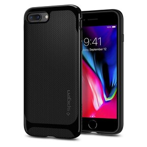 Удароустойчив, хибриден кейс Spigen Neo Hybrid за IPHONE 7/8 PLUS - Shiny Black ( 055CS22230 - 10029 )
