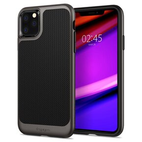 Удароустойчив, хибриден кейс Spigen Neo Hybrid за IPHONE 11 PRO - gunmetal ( 077CS27243 - 10029 )