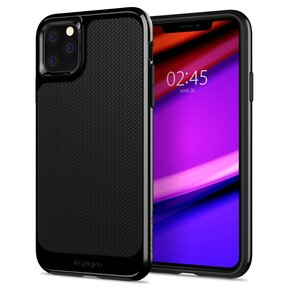 Удароустойчив, хибриден кейс Spigen Neo Hybrid за IPHONE 11 PRO - Midnight Black ( 077CS27244 - 10029 )