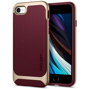 Удароустойчив, хибриден кейс Spigen Neo Hybrid за IPHONE 7/8/SE 2020 - burgundy ( 054CS22198 - 10029 )