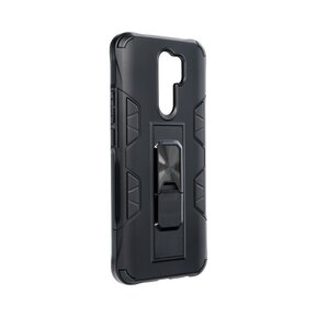 Удароустойчив кейс за XIAOMI Redmi 9 - Forcell Defender черен ( 5903396072284 - 1007 )