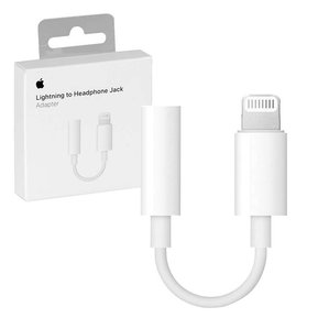 APPLE Lightning/Headphone Aux Jack 3.5mm - Оригинален аудио адаптер за iPhone и iPAD ( MMX62ZM  )