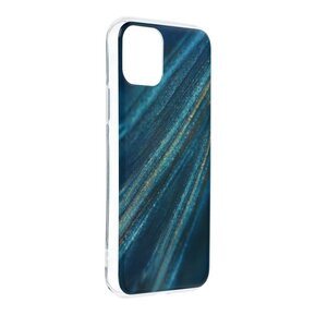 Стилен дамски кейс за IPHONE 11 от Forcell Marble Cosmo - design 10 ( 5903396085659 - 1006 )