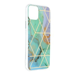 Стилен дамски кейс за IPHONE 11 от Forcell Marble Cosmo - design 3 ( 5903396085598 - 1006 )