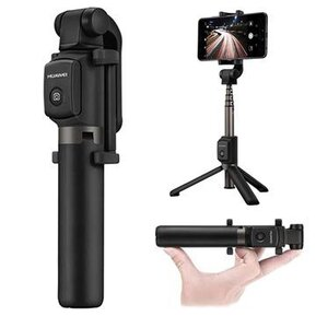 HUAWEI Selphie Stick Tripod Wireless AF15 Black/Gray - Блутут селфи стик с трипод ( AF15/55030005 )