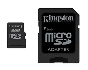 Kingston micro SD 2gb