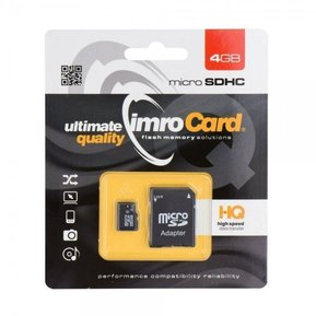 imro Card - micro SD 4 GB