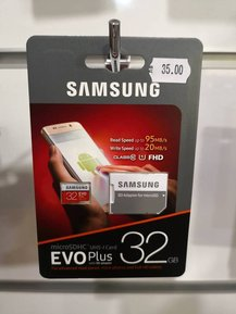 SAMSUNG EVO Plus micro SD 32 GB