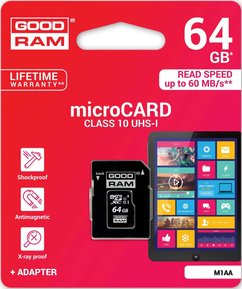 Good RAM micro SD 64 GB