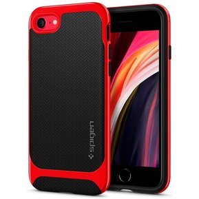 Удароустойчив, хибриден кейс Spigen Neo Hybrid за IPHONE 7/8/SE 2020 - Dante Red ( ACS00953 - 10032 )