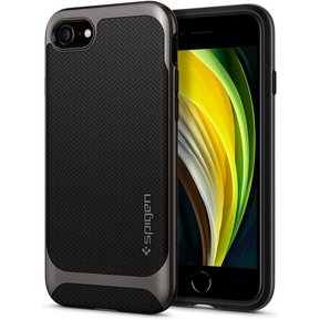 Удароустойчив, хибриден кейс Spigen Neo Hybrid за IPHONE 7/8/SE 2020 - Gunmetal ( 054CS22197 - 10032 )