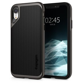 Удароустойчив, хибриден кейс Spigen Neo Hybrid за IPHONE XR - Gunmetal ( 064CS24878 - 10027 )
